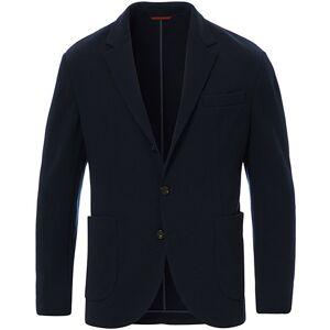 Brunello Cucinelli Soft Wool Jersey Blazer Navy men 54 Blå