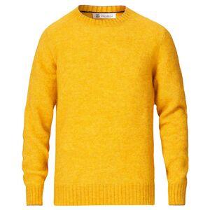 Brunello Cucinelli Soft Mohair Crew Neck Sweater Yellow men XL Gul