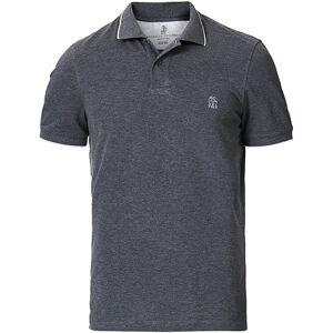 Brunello Cucinelli Short Sleeve Polo Dark Grey men XL Grå