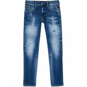 Replay Anbass 10 Years Wash Jeans Light Blue men W34L32 Blå