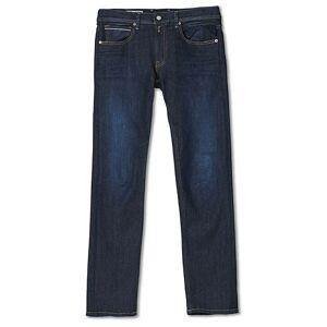 Replay Grover Hyperflex Reused Jeans Dark Bkue men W31L34 Blå