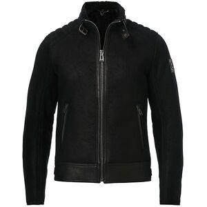 Belstaff Westlake 2.0 Sherling Leather Jacket Black men 52 Sort