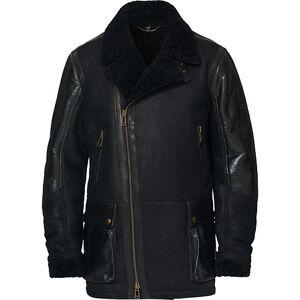 Belstaff Dennison Leather Jacket Black men 48 Sort