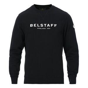 Belstaff 1924 Crew Neck Logo Sweat Black men XL Sort