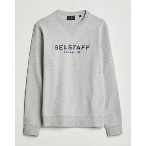 Belstaff 1924 Crew Neck Logo Sweat Grey Melange men L Grå