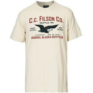 Filson LT Outfitter Graphic Print Tee Off White men M Hvid