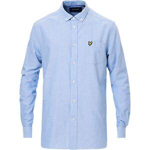 Scott Lyle & Scott Lightweight Oxford Shirt Riviera Blue men S Blå