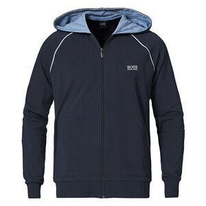 Boss Mix & Match Full Zip Hoodie Dark Blue men XL Blå