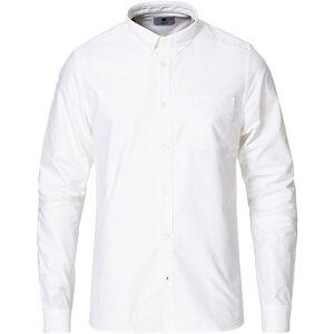NN07 Sixten Oxford Shirt White men L Hvid