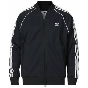 adidas Originals Full Zip Bomber Sweater Black men M Sort