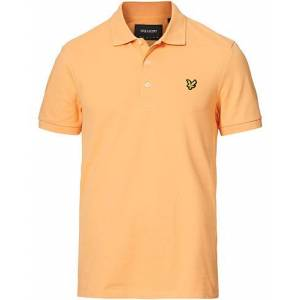 Scott Lyle & Scott Plain Pique Polo Shirt Melon men XXL Orange