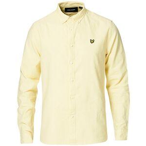 Scott Lyle & Scott Linen/Cotton Shirt Lemon men XXL Gul