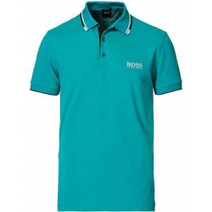 Boss Athleisure Paddy Pro Polo Turquoise men S Blå