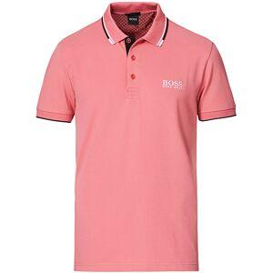 Boss Athleisure Paddy Pro Polo Pastel Red men XXL Pink