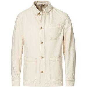 Boss Moore Overshirt Open White men S Hvid