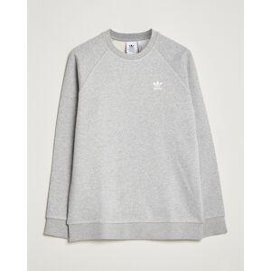 adidas Originals Essential Trefoil Sweatshirt Grey Melange men L
