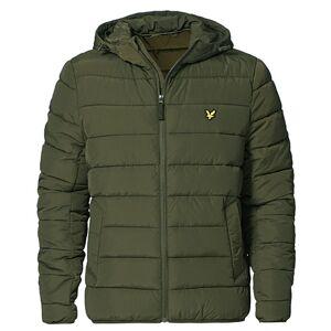 Scott Lyle & Scott Lightweight Puffer Jacket Olive men XL