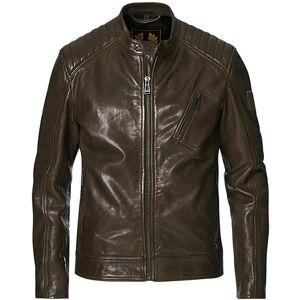 Belstaff V Racer 2.0 Leather Jacket Salvia men 52
