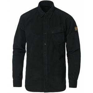 Belstaff Pitch Corduroy Shirt Black men S