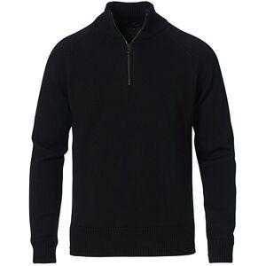 Belstaff Alfie Knitted Wool Half Zip Black men XL