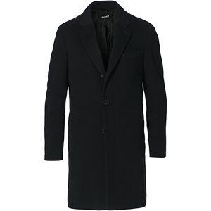 Boss Hyde Wool/Cashmere Coat Black men 56