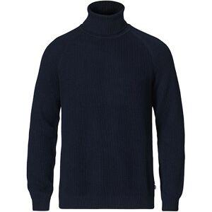 Boss Novenzo Heavy Knitted Roll Neck Dark Blue men S