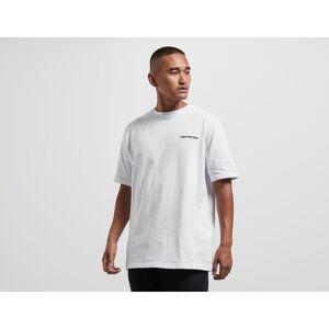 Footpatrol Bar Logo T-Shirt - WHT/WHT, WHT/WHT  - Male - Size: S