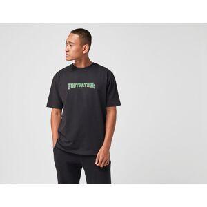 Footpatrol Script T-Shirt - Musta, Musta  - Male - Size: M