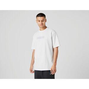 Footpatrol Graph Bar Logo T-Shirt - WHT/WHT, WHT/WHT  - Male - Size: XXL