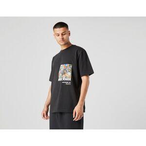 Footpatrol x Earl Jeffers & Ral Duke RSD T-Shirt - Musta, Musta  - Male - Size: S