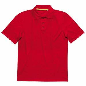 Stedman Active 140 Polo - Red  - Size: ST8450 - Color: punainen