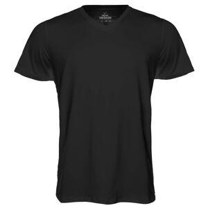 Frigo Revolutionwear Inc. Frigo CoolMax T-shirt V-neck - Black  - Color: musta