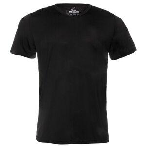 Frigo Revolutionwear Inc. Frigo 2 Mesh T-Shirt V-neck - Black  - Size: TS2 - Color: musta