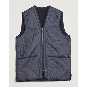 Barbour Quilt Waistcoat / Zip-In Liner Navy