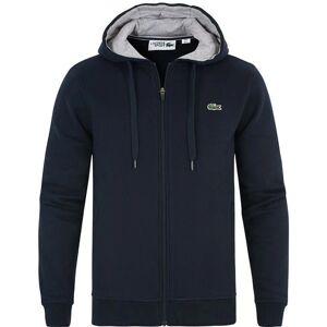 Lacoste Full Zip Hoodie Sweatshirt Marine