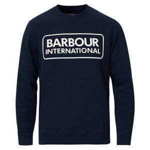 Barbour Large Logo Sweatshirt Navy
