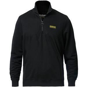 Barbour Half Zip Track Sweater Black