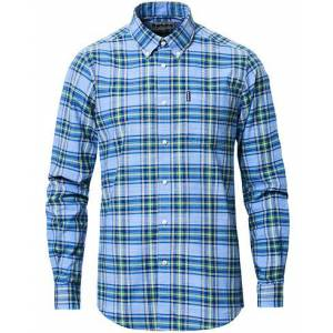 Barbour Tailored Fit Highland Check 26 Shirt Sky Blue