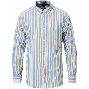Gant Windblown Oxford Stripe Shirt Bright Cobolt