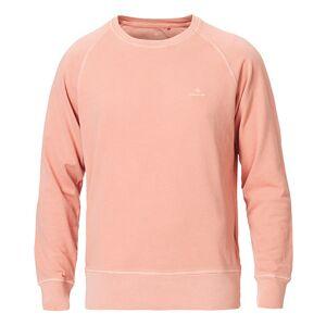 Gant Sunbleached Crew Neck Sweatshirt Pale Coral