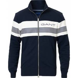 Gant Striped Full-Zip Evening Blue