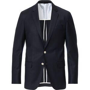 BOSS Hartley Flannel Blazer Dark Blue