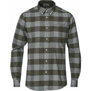 Barbour Country Check Flannel Shirt Olive