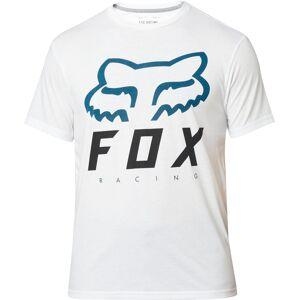 FOX Heritage Forger SS Tech Tee T-paitaValkoinen Sininen