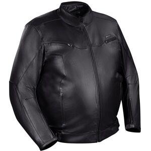 Bering Gringo Iso koko moottoripyörä nahkatakki  - Musta - Size: L