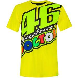 VR46 The Doctor 46 T-paita  - Keltainen - Size: 2XL