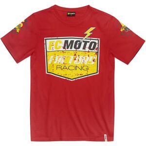 FC-Moto Crew T-paita  - Punainen - Size: 2XL