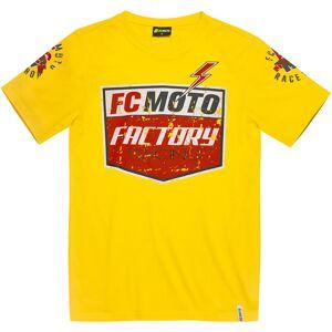 FC-Moto Crew T-paita  - Keltainen - Size: L