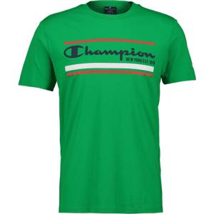 Champion So Graphic Tee M T-paidat GREEN  - Size: Medium