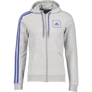 Adidas So 3s Tape Fz Hd M Yläosat MEDIUM GREY MELANG  - Size: Extra Small